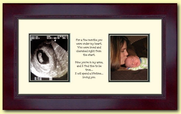 Baby Photo Mat w/Imprinted Quote
